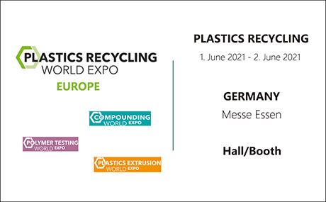 PLASTIC RECYCLING WORLD EXPO 2021