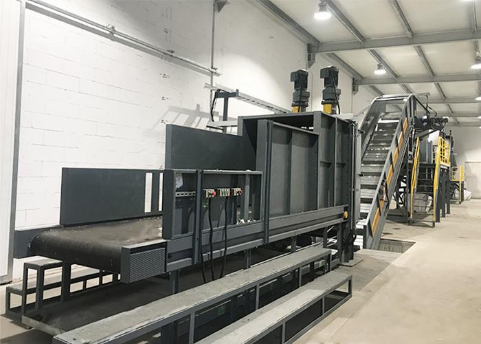 The Baler Breaker Shaft Adopts Carbon Steel